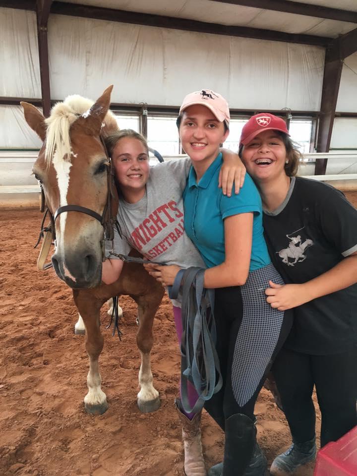 Fun at Horsemanship Camp